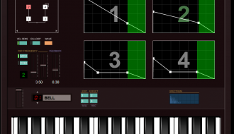 Web FM synthesizer