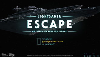Lightsaber Escape Star Wars