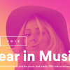 Spotify Year in Music 2015