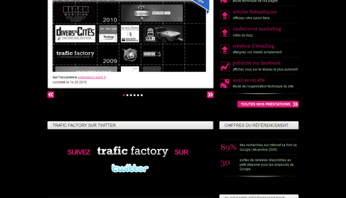 Trafic factory